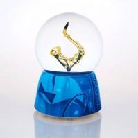 Glob muzical cu apa saxofon