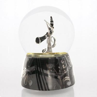 Glob muzical cu apa clarinet